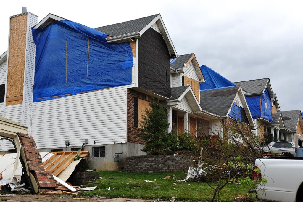 residential storm damage restoration
